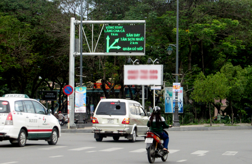 """Các tuyến đường quanh khu vực sân bay Tân Sơn Nhất sẽ được chỉnh trang để đồng bộ với đường """"ngoại giao"""" Nguyễn Văn Trỗi - Nam Kỳ Khởi Nghĩa. Ảnh: H.C."""